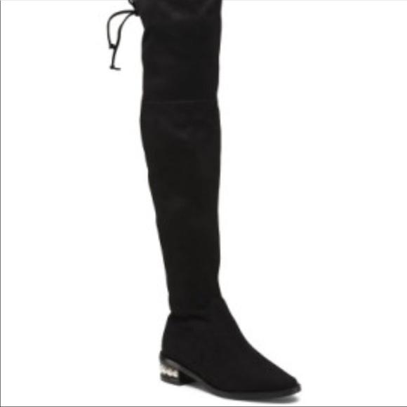 18f4aec0888 Catherine Malandrino Shoes - Catherine Malandrino Perse Over the Knee boots